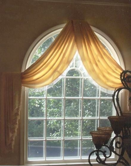 Palladium Stone Around Window : Palladian window treatments grasscloth wallpaper